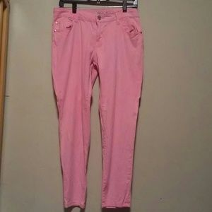 Pink jeans size 11